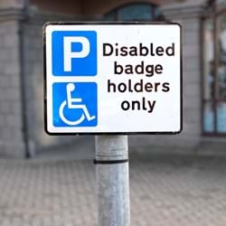 Blue Badges available for people suffering from mental illness