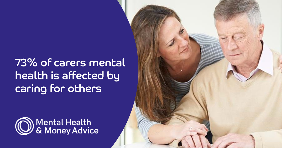 Being a carer can affect your mental health and money